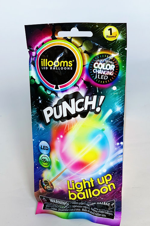 Light Up LED Punch Balloon