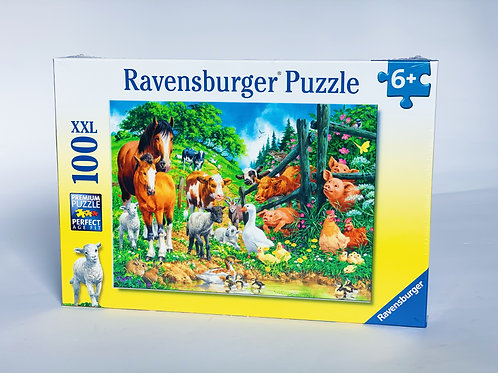 Farmyard XXL 100pc Puzzle