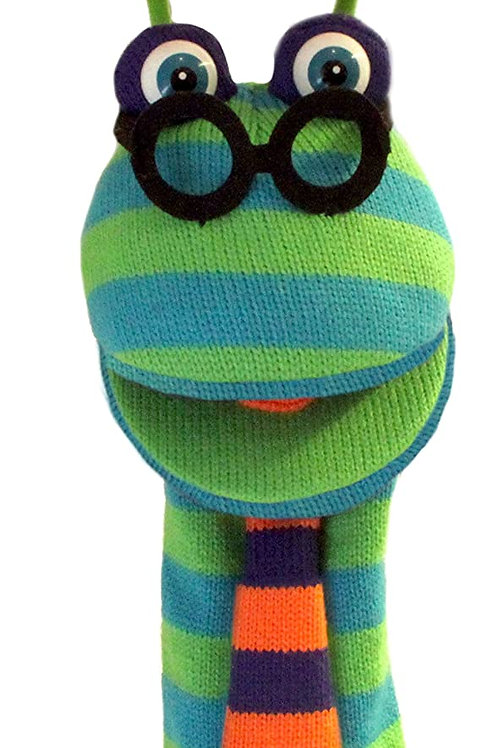 The Puppet Company - Knitted Puppet- Dylan ,15 inches