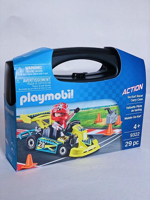 Go-Kart Racer Carry Set Playmobil Action