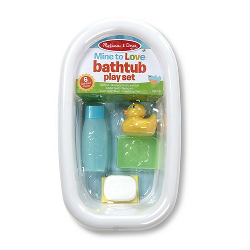 Melissa & Doug Mine to Love Baby Doll Bathtub