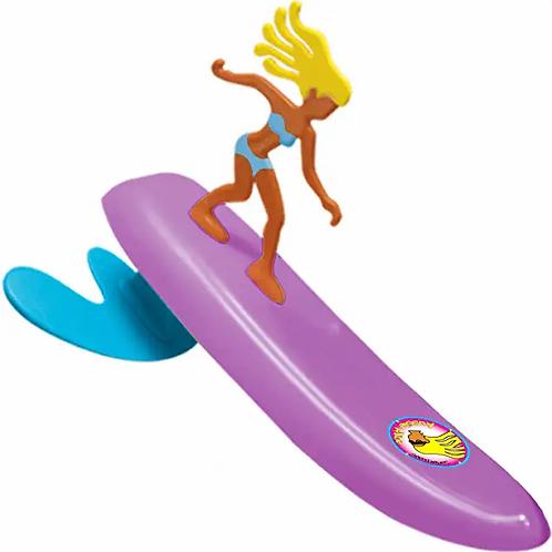 Surfer Dudes Legends & Surfer Pets Wave Powered Mini-Surfer, Pet and Surfboard B