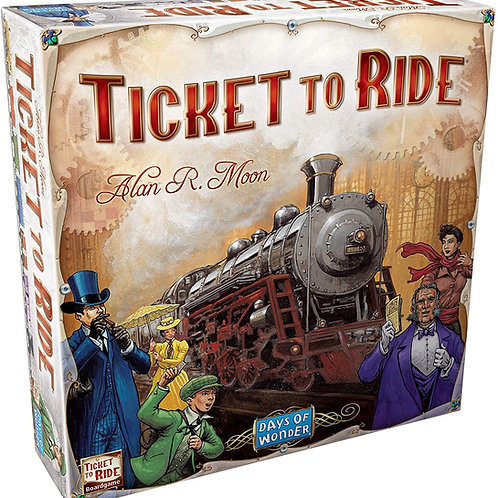 Ticket to Ride Board Game | Family Board Game | Board Game for Adults and Family