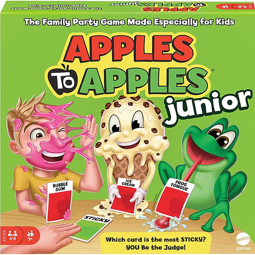 Mattel Games Apples to Apples Junior - The Game of Crazy Comparisons