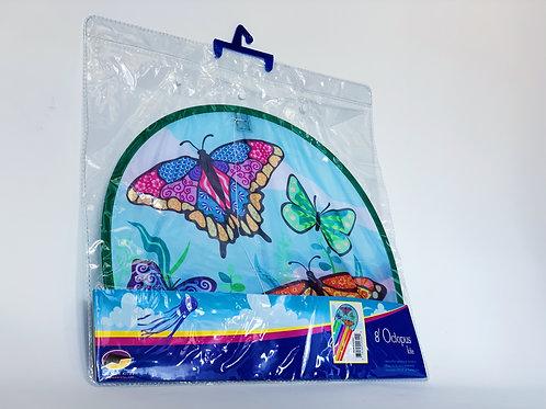 Butterfly 8' Octopus Kite