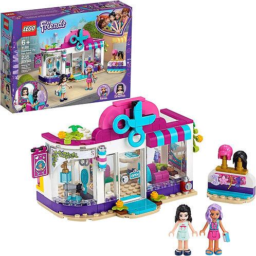 LEGO Friends Heartlake City Play Hair Salon Fun Toy 41391 Building Kit, Featurin