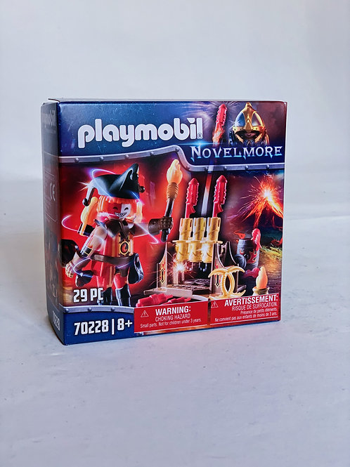 Fire Master with Canon Playmobil Novelmore