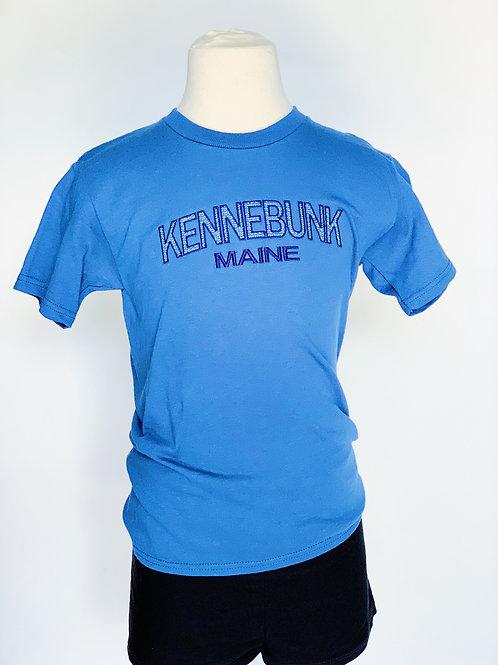 Blue Kennebunk Maine Shirt