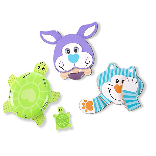 Melissa & Doug First Play Favorite Pets Grasping Toys