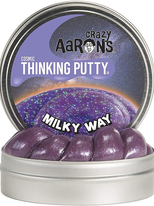 Crazy Aaron's Thinking Putty, 3.2 Ounce, Cosmic Milky Way