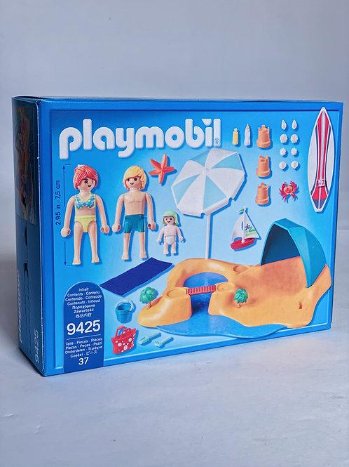 Family Beach Day Playmobil