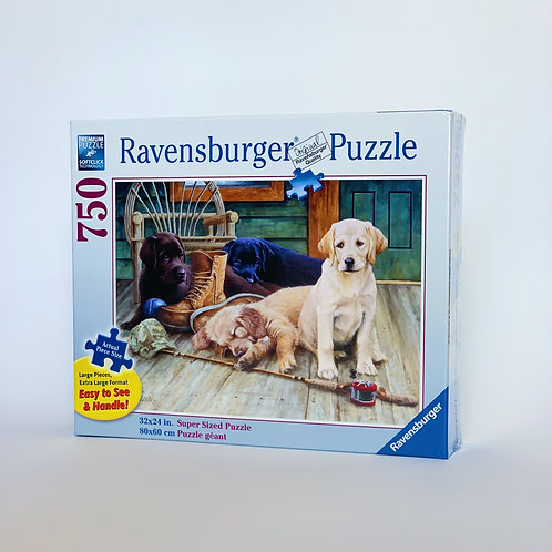Porch Puppies 750pc Puzzle