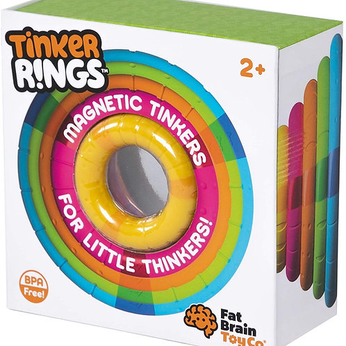 Fat Brain Toys Tinker Rings Baby Toys & Gifts for Ages 2 to 3