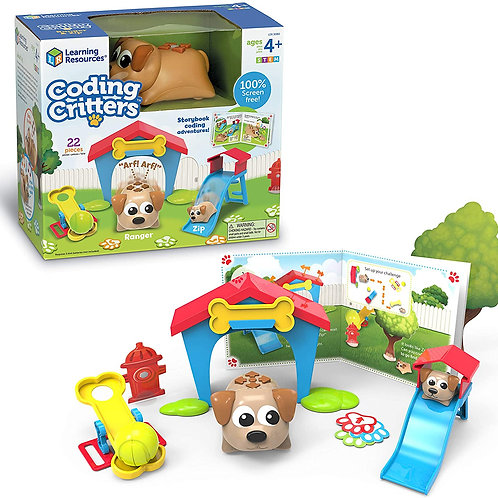 Learning Resources Coding Critters Ranger & Zip, Toy of the Year Award Winner, I