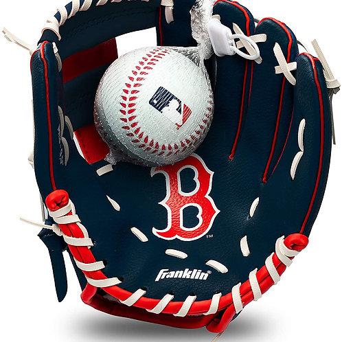 Franklin Sports MLB Youth Teeball Glove and Ball Set - Kids Baseball and Teebal