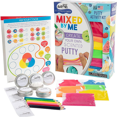 Crazy Aaron's Mixed by Me SCENTsory - Make Your Own Scented Putty Creation Kit -