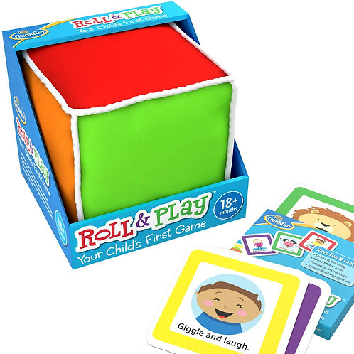 ThinkFun Roll and Play Game for Toddlers - Your Child's First Game! Award Winnin