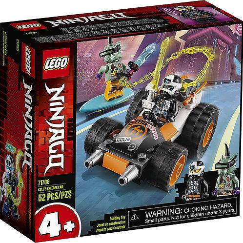 LEGO NINJAGO Cole's Speeder Car 71706 Ninja Car Building Kit