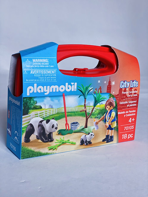 Panda Caretaker Carry Case Playmobil City Life