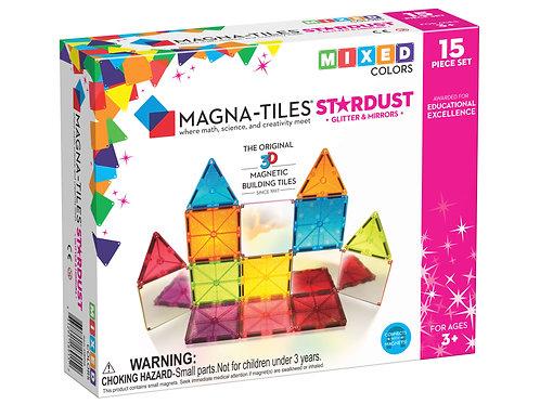 Magna-Tiles® Stardust 15-Piece Set