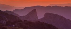 Salto del Cabrero at sunset