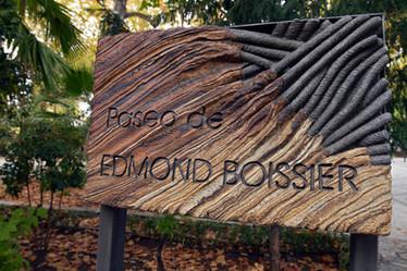Plaque commemorating Swiss Botanist Edmond Boissier in Ronda