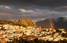 Gaucín rainbow Andalucía, Spain.
