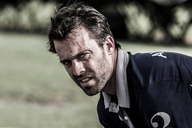 Facundo Pieres of Argentina *the World's No2 Professional Polo Player in 2016)