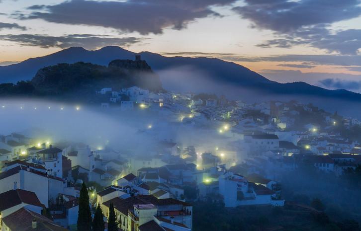 Gaucín morning mist, Andalucía, Spain.