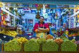 Olive Shop Owner