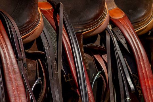 Polo pony saddles