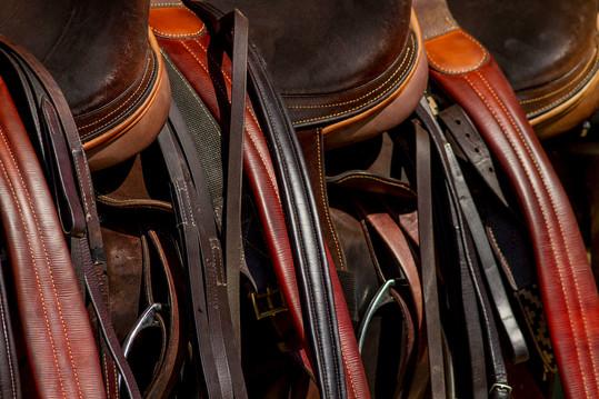 Polo pony saddles