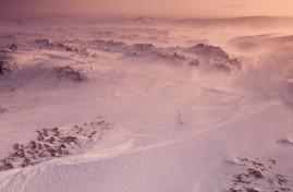 Saguri snow formations