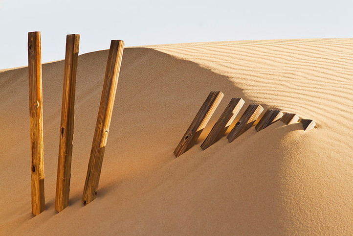 Fence & Sand dune