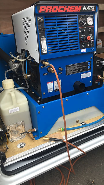 High Power truck mounted steam cleaning equipment