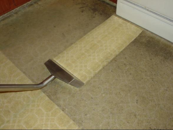 Dirty Carpet, serious steam clean