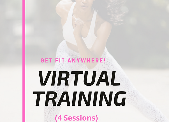 4 Virtual Training Sessions