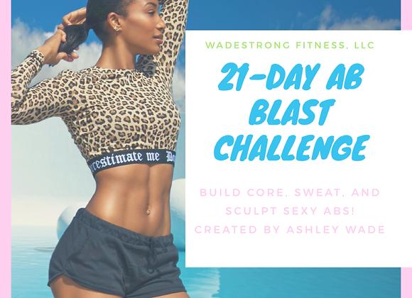 21-Day Ab Blast Challenge