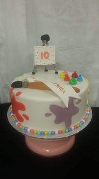 Artsy cake