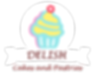 Delish Cakes and Pastries Logo