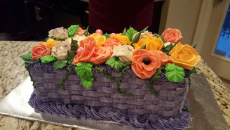 Flower Bunch cake