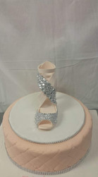 Glass Slipper Cake