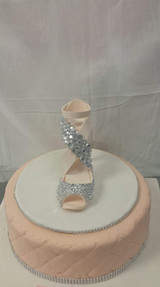 Glass Slipper Cake
