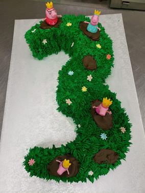 3 year old Birthday cake