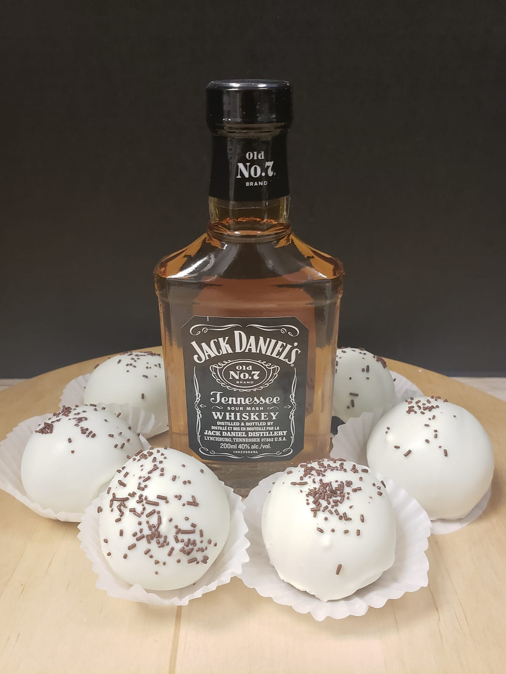 Bourbon Balls by Delish Cakes & Pastries