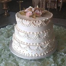 Modern White Cake