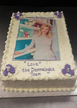 Lili Reinhart Birthday Cake