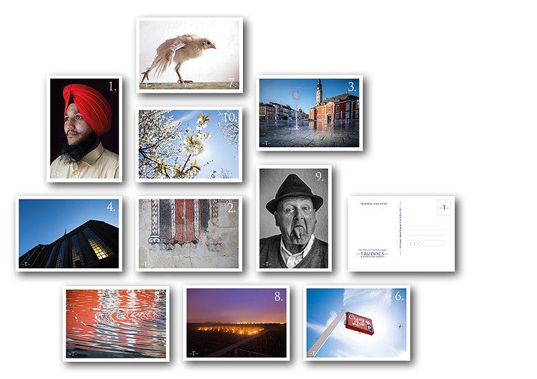 Tru-Art voor Trudocs postkaartenset 10 stuks