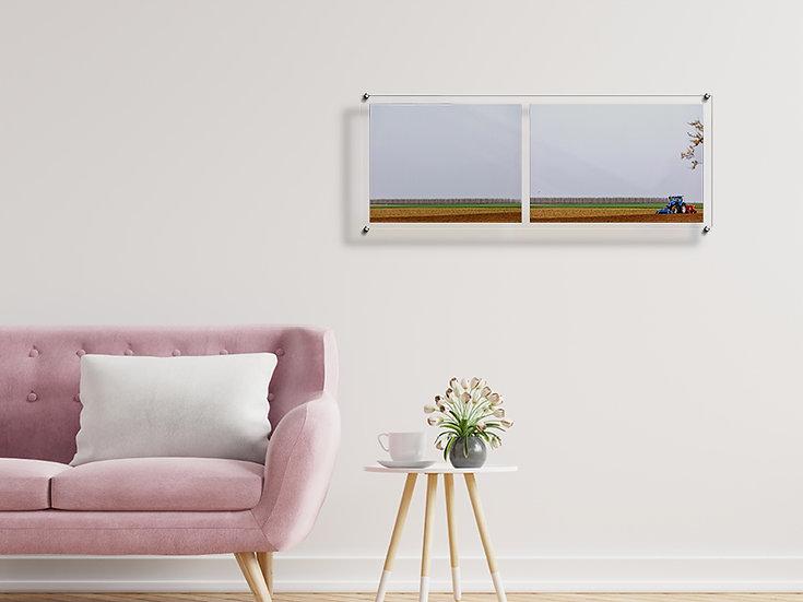 Tweeluik op luxueus plexiglas Mine Dalemans Tru-art voor Trudocs