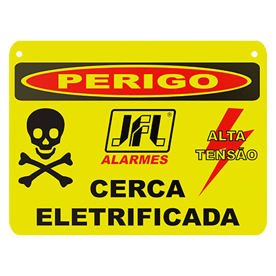 Placas de Advertência PVC